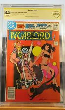 Warlord #37 Newsstand Edition CBCS 8.5 Signed Mike Grell Comic CSCC