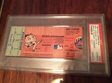 PSA NOLAN RYAN TOM SEAVER 1969 World Series Ticket MIRACLE Mets 1st TITLE