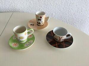 3 Espressotassen Ritzenhoff Mila