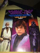 SAN DIEGO COMIC CON '97 SOUVENIR PROGRAM BOOK ~1997~ Star Wars, Horror, Dracula