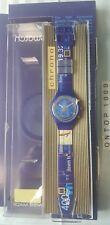 "Swatch ""Gold Medal"" SCZ 400 Chrono mit Datum Specialpack 1997"