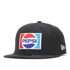 NEW ERA x PEPSI 59FIFTYLOGO CAP Black From Japan New
