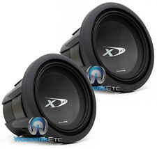 "(2) ALPINE SWX-1043D 10"" SUBS 3000W DUAL 4-OHM TYPE-X SUBWOOFERS BASS SPEAKERS"