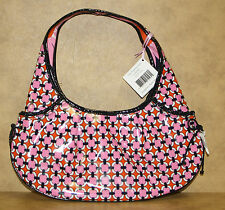 Vera Bradley Purse Frill Collection Loves Me Tied Together Hobo Pink Retired