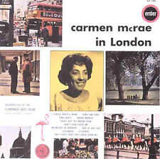 New: Mcrae, Carmen: In London  Audio CD