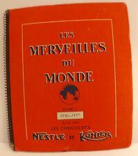 Les Merveilles du monde Vol 3 Chocolats Nestlé Kohler 1956 album images