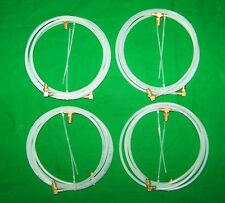 1982-1995 Chrysler LeBaron Convertible Top Hose Set with fittings, 2 Pairs