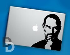 Steve Jobs Macbook decal / Vinyl Laptop sticker / Celebrity Stencil