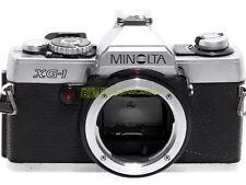 Minolta XG-1 reflex automatica con otturatore elettronico. Innesto Minolta MD.