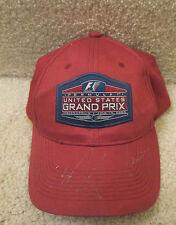 2005 US GRANG PRIX F1 Tiago Monteiro Narain Karthikeyan AUTOGRAPHED HAT-CAP 89fee94f0ca2
