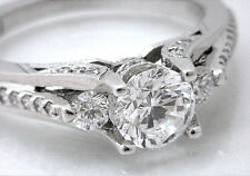 Gorgeous New $11,725 TACORI 2633RD 18k WG 1.07ctw VS1 G Round Brill Diamond Ring