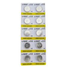 10 x Vinnic Alkaline Button Cell Battery 1.5v AG10 L1131F LR54 189 389 Watch
