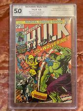 Incredible Hulk #181 PGX Signature Series 5.0 STAN LEE, WEIN, TRIMPE signed  CGC