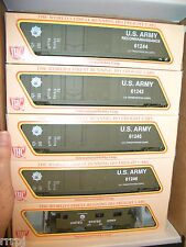 HO  IHC US ARMY TRAIN SET US ARMY  4 CARS  BOX  SET & CABOOSE  # BBM-1007