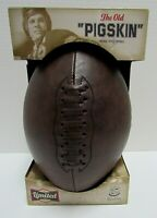 """VINTAGE STYLE FOOTBALL """"THE OLD PIGSKIN"""" LIMITED EDITION NEW IN BOX"""