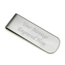 Men's Silver Plated Money Clip