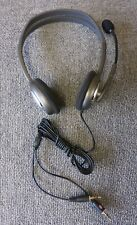 Logitech H110 Wired Stereo On-Ear Headset With Noise-Canceling Microphone