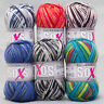 """600g (45€/kg) Gründl 4-Fach """" Soxs Color """" Sockenwolle Socken Wolle stricken"""