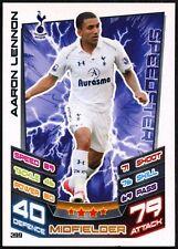 Aaron Lennon Tottenham #299 Topps Match Attax Football 2012-13 Trade Card (C440)