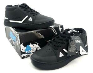 Afton Cooper Mountain Bike Flat Shoes Black/White 45 EU / 11 US