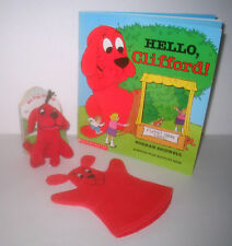 Clifford The Big Red Dog Puppet Theater & Tiny Plush
