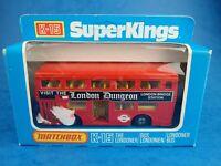 Die-cast MATCHBOX K-15 LONDON BUS The Londoner 1979 Superkings In Box