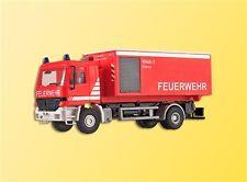 Kibri 18256 H0 LKW Mercedes Actros Wechsellader mit Dekontaminationscontainer