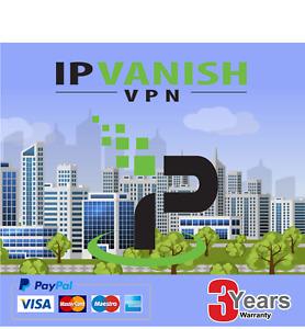 Get a Premium IPVanish VPN ✔3 YEAR SUBSCRIPTION✔3 YEARS WARRANTY