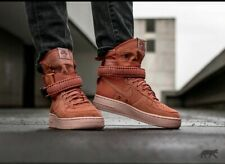 Mens Nike SF Air Force 1 AF1 Hi Dusty Peach Boots Shoes Trainers 44,5