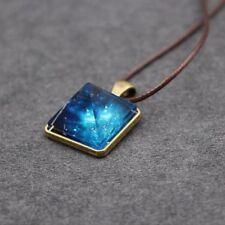 Charm Luminous Pyramid Fancy Sky Star Glow In The Dark Pendant Necklace Jewelry