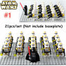 Set of 21pcs Star Wars Clone Troopers Stormtrooper Mini Figure Bricks Buidling
