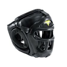 ProForce Thunder Vinyl Head Guard w/ Face Shield for Karate/Boxing