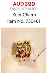 Pandora 14K Gold Knot Charm, 750461.