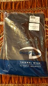 Vintage Duofold Thermal Wear Black L Bottoms NWT