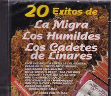 La Migra,Los Humildes,Los Cadetes de Linares 20 Exitos CD New Nuevo Sealed