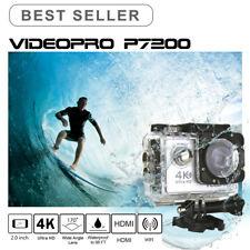 VIDEOPRO HD 4K 30fps WIFI Underwater Sports Camera 16MP 2 inch LCD Silver