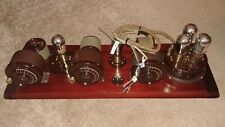 Restored 1923 Atwater Kent  Model 10C 4700 Breadboard Radio Works Perfectly
