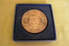 DDR Medaille - zu Ehren W. I. Lenin - 1870-1970 - Bronze