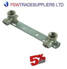 BRACKET FOR EXPOSED SHOWER FAUCET CONNECTION 1/2''X16mm- pex/alu/pex