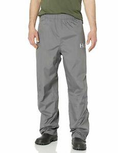 $100 - HUK Performance Fishing Mens Packable Rain Pants Charcoal Gray 2XL