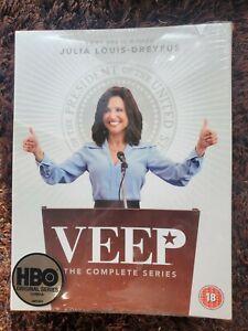 Veep Complete Series 1-7 DVD - Season 2 3 4 5 6 - Julia Louis-Dreyfus (Seinfeld)