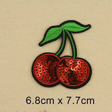 Cherry Cute Embroidery Sew On Iron on Patch Badge Bag Fabric Applique DIY Gift