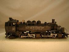 2-6-6-2   Agriculture Logger - Mantua Logging Steam Engine - custom weathered-HO