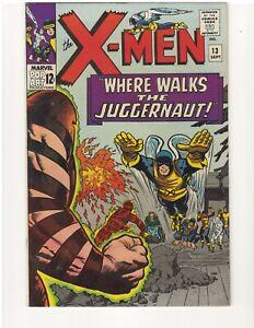 """X-MEN 13- """"Where Walks The Juggernaut! - 2nd Appearance!!"""