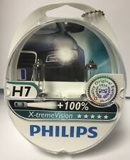 Philips XTREME VISION H7 Bulbs x2 100% Brighter ( Not Osram Night Breakers )