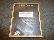 John Deere 644J Loader Shop Service Repair Technical Manual TM10246 S/N 611232-