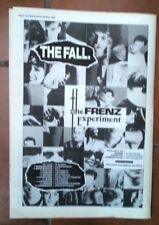 FALL FRENZ Experiment Tour 1988  UK Poster size Press ADVERT 16x12 inches