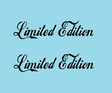 1 x 2 Plott Aufkleber Limited Edition  Wunschfarbe Sticker neu Cool Fun NR 001