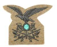 Original WWII Royal Italian Army (REI) Alpine Communications Cap Badge