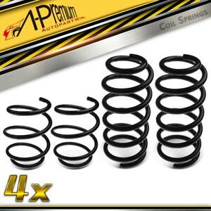 4x Front Rear Coil Springs for Mini Cooper S R50 R53 2002-2006 1.6L Petrol